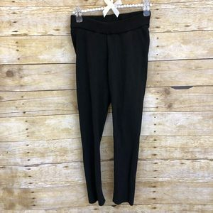Zara Black Knit Leggings Small
